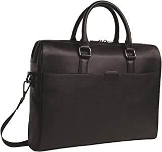Professional Business Deluxe Briefcase Laptop Bag I Shoulder Strap Slim Messenger Bag For Comfortable Commute Travel I Fun...