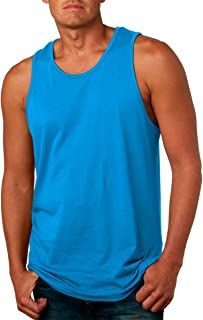 cad36790cd3f5d Next Level Apparel mens Next Level Premium Jersey Tank(3633)