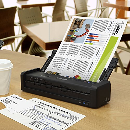 Epson Workforce ES-300W Wireless Color Portable Document Scanner with ADF for PC and Mac, Sheet-fed and Duplex Scanning Photo #9