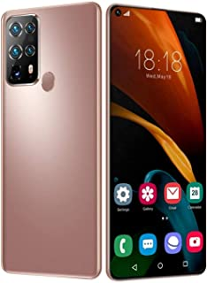 1S40U Mobile Phone, Free Unlocked Smartphone, 7.2-Inch Full-Screen, 128GB Dual SIM Android Phone, 4800mAh Battery, 48MP+24...