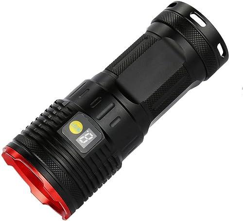 Barbare Supwildfire 50000LM 15 x XM-L T6 LED AliHommestation Nombre Affichage La Chasse Lampe De Poche
