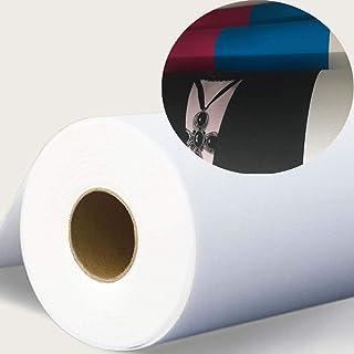 "Heavy-Duty Inkjet Canvas 17""x40ft Roll Waterproof and White Matte Finish Digital Printing 100% Polyester Inkjet Water-base..."