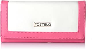 Fostelo Women's Erica Two Fold Wallet (White)