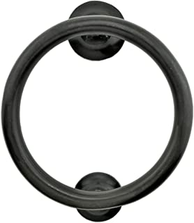 Renovator's Supply Smooth Circle Door Knocker Brass Oil Rubbed Bronze 5 Inch