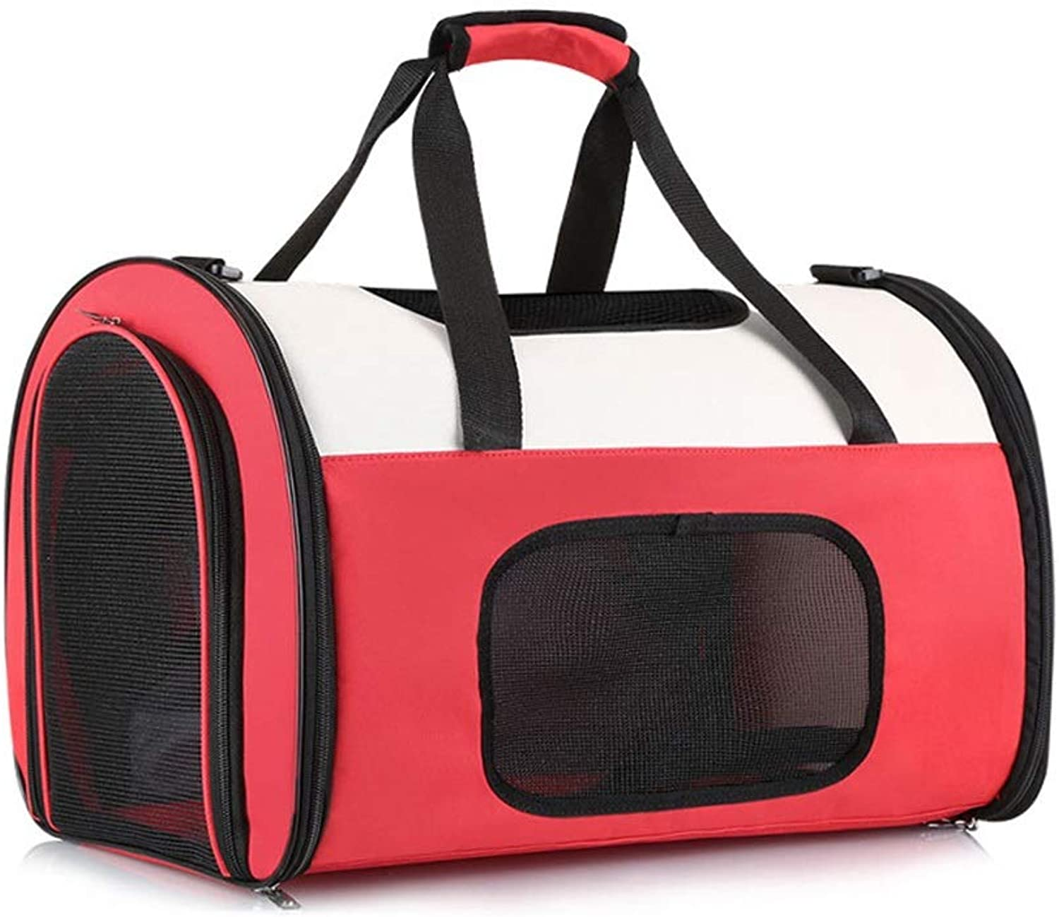 FELICIPP Pet Outer Bag Breathable Dog Outing Carrying Case Large Capacity Pet Tote Foldable Cat Bag (color, Size   S)
