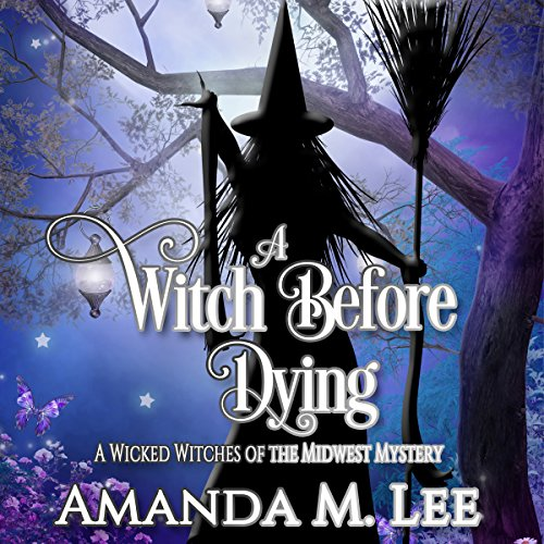 A Witch Before Dying audiobook cover art