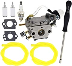 Carbhub C1U-W49B Carburetor for Poulan Weedeater Craftman Zama C1U-W49 C1U-W49B 577135901 Carb with Fuel Filter Gaskets Adjustment Tool kit, Zama C1U-W49B Carburetor