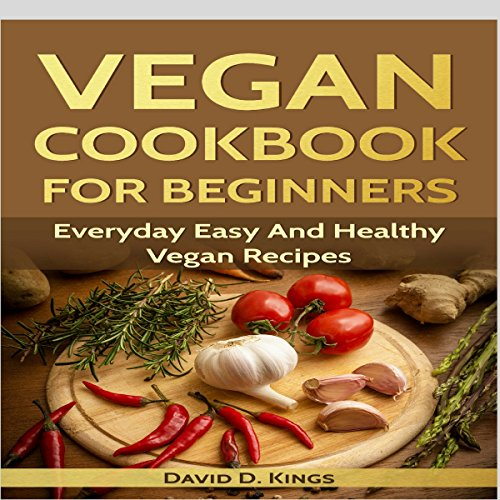 Vegan Cookbook for Beginners audiobook cover art
