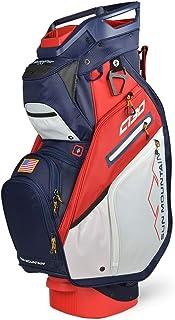Sun Mountain 2020 C-130 5-Way Golf Cart Bag Navy/Red