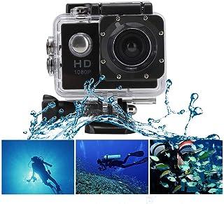 Action Camera, Waterproof Sports Action Camera, 1080P Outdoor Sports Action Camera High-Definition 110 Degree Angle Camera...