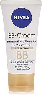 Nivea Bb Cream 5 In 1 Beautifying Moisturizer - Medium, 50 Ml