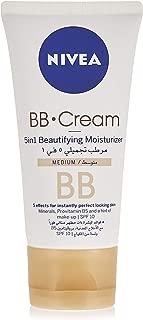 Nivea Bb Cream 5 In 1 Beautifying Moisturizer 50 ml, Pack of 1