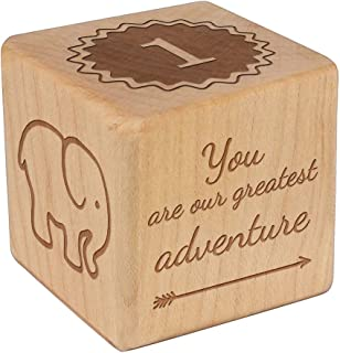 personalized keepsake block