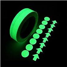 Superlijm 3M 15mm Meerdere Kleur Lichtgevende Tape Nachtzicht Gloed in Donkere Zelfklevende Waarschuwing Tape Veiligheid V...