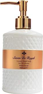 Savon de Royal Pearl Sıvı El Sabunu 500 ml-White Pearl 1 Paket (1 x 500 ml)