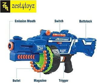 Zest 4 Toyz Blaze Storm Soft Bullet Automatic Gun (Multicolour)