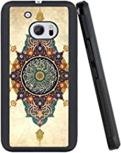 Beemars Customized Wooden Eye Devil Case for HTC 10, Black PC and TPU Protective Anti-Slip Bumper HTC 10 Phone Case