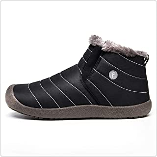 Men Winter Boots Male Snow Ankle Waterproof Warm Fur Casual Boot Chaussure Homme