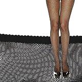 NOPNOG Medias sexys en negro (ultrafinas) – Medias de malla para mujer – Medias altas hasta el muslo (pequeña red)