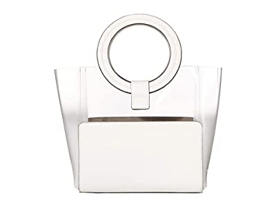 Vince Camuto Clea Small Tote (Radiant White) Handbags