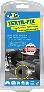 ATG DIY Fabric Upholstery Repair Kit | Cigarette Burn Repair kit car Cigarette Scratches Abrasions Scuffs Holes | Carpet Repair kit car seat Restorer