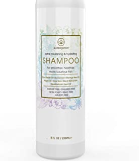 Natural & Organic Sulfate Free Shampoo - Premium Moisturizing Hair Shampoo for Luxurious, Healthier Hair With Argan Oil, Kiwi, Kukui, Moringa Seed & More for Thin, Frizzy, Dry Hair 8oz Era-Organics