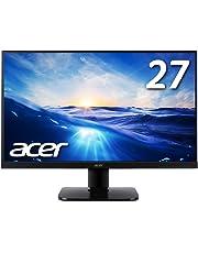 Acer モニター ディスプレイ KA270HAbmidx 27インチ フレームレス VA HDMI端子対応 スピーカー内蔵 ブルーライト軽減