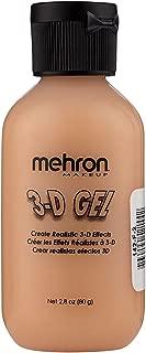 Mehron Makeup 3-D Gel (2 oz) (Fleshtone)