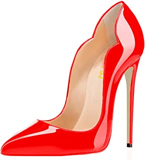 Women Classic Pointed Toe High Heels Sexy Stiletto Pumps...