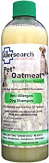 Allersearch Laboratories Pet Plus Oatmeal Anti-Allergen Dog Shampoo