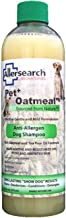 Allersearch Laboratories Pet Plus Oatmeal Anti-Allergen Dog Shampoo