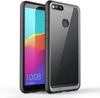 SUPCASE Unicorn Beetle Style Series Case for Huawei Mate SE, Honor 7X, Premium Hybrid Protective Clear Case for Honor 7X / Huawei Mate SE 5.93 Inch 2017 Release, Retail Package (Black)