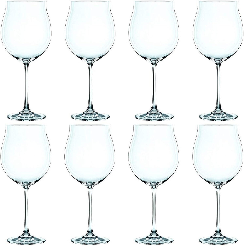 Nachtmann Vivendi Set of 8 Pinot black Glasses, 30-Ounce