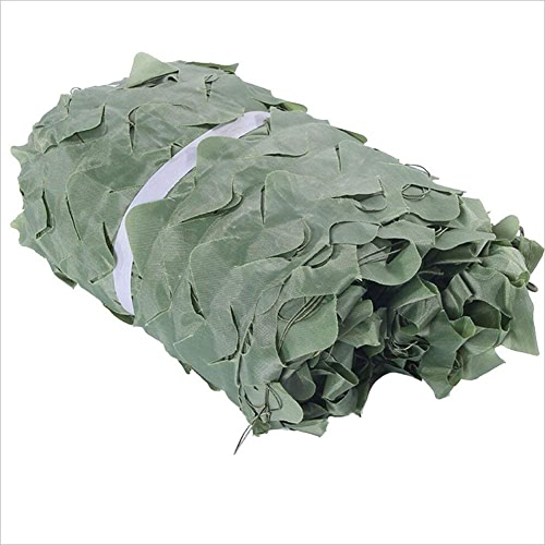 ATR Filet ombrage Filets de Prougeection Contre Le Soleil en Plein air, écran Solaire Vert Filet de Camouflage Jungle CS, Taille Personnalisable (Couleur  Vert, Taille  4x20m)