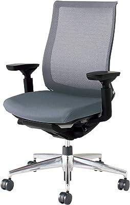 コクヨ ベゼル イス オフィスチェア ソフトグレー モデレートタイプ デスクチェア 事務椅子 ハイエンドモデル CR-A2811E6GME3-V 【ラクラク納品サービス】