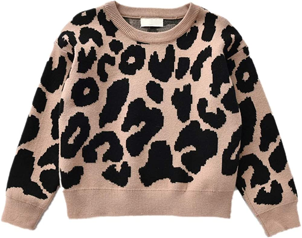 Toddler Baby Girls Boys Crewneck Sweatshirt Casual Pullover Sweater Fall Winter Outfit Clothes