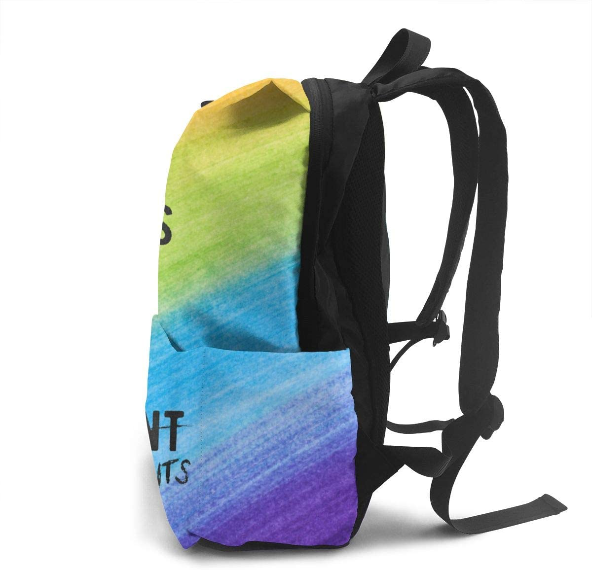 Sherrygeoffrey I Do What I Want Bookbag Student Bag Shoulder Backpack Laptop Bag