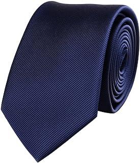 AINOW メンズ ストライプのネクタ 6cm 狭いネクタイ
