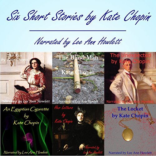 Kate Chopin: Six Short Stories audiobook cover art