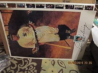 Lou Gehrig New York Yankees Postage stamp poster em 2x3 bxa