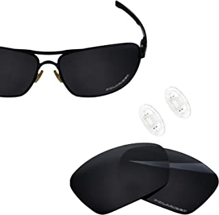 Polarized Replacement Lens & Nose Piece for Oakley Plaintiff Squared