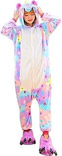 bb73cae8c84cb Pyjama Licorne Adulte - Femme Homme Animal Combinaison Pyjamas Cosplay  Déguisement Costume