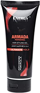 Energy Cosmetics Armada Professional Hair Styling Gel, 200ml