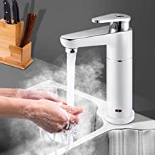 3.5KW Instant Heating Tap Water Faucet 220V Tankless Electric Hot Water Heater Faucet for Bathroom Kitchen