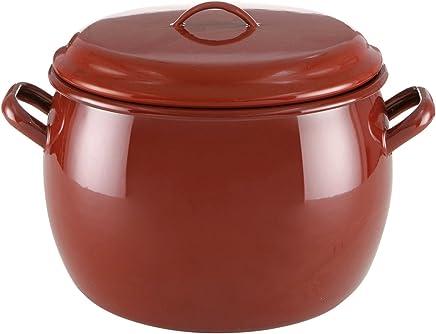 Amazon.es: Porcelana Esmaltada - Sartenes y ollas / Menaje de cocina ...