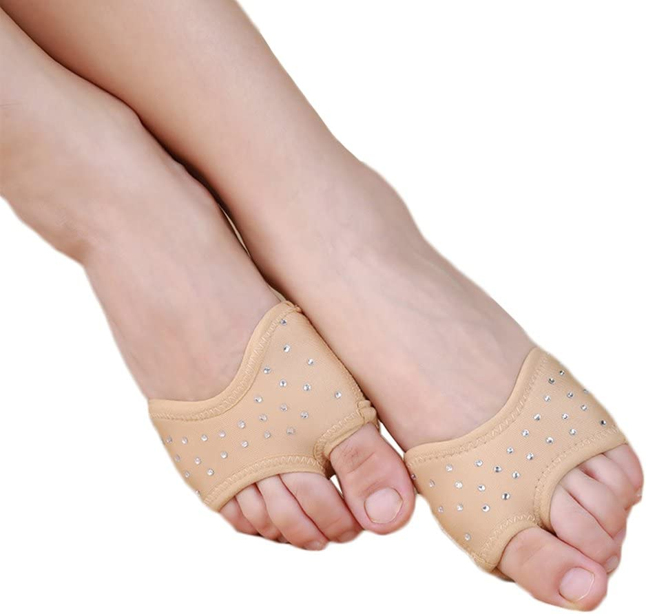 Yuntown Ballet Dance Half Shoes Foot Thong Dance Paw Forefoot Pad Cover