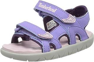 Timberland Perkins Row 2-Strap (Toddler), Sandalias de Punta Descubierta Unisex niños