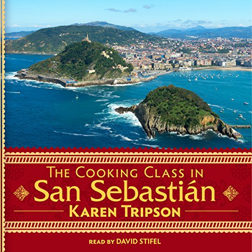 The Cooking Class in San Sebastián audiobook cover art