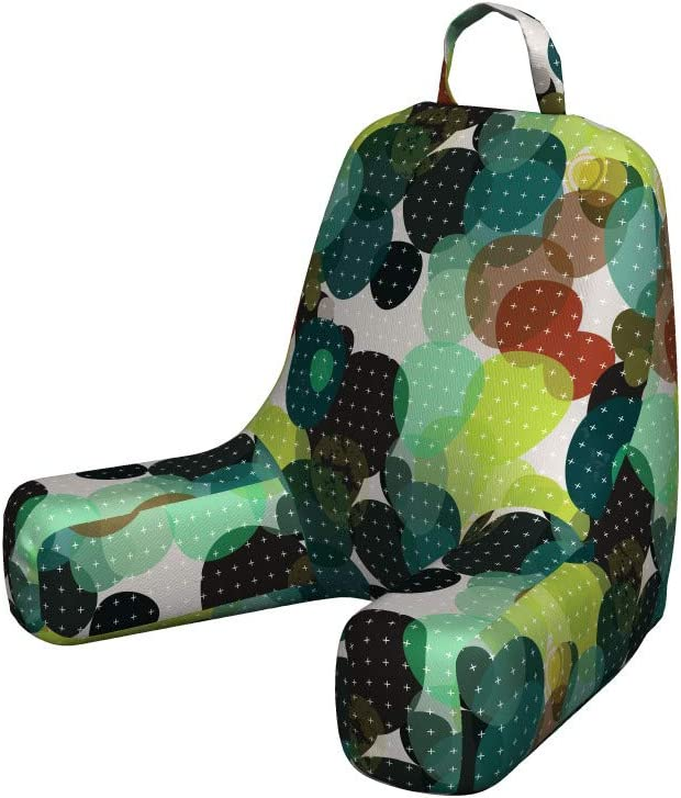 Ambesonne Modern Reading Cushion Illustration Back Lowest All stores are sold price challenge with Pocket