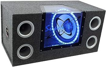 "$127 » PYRAMID BNPS122 12""1200W Car Audio Sub Box Subwoofer Bandpass Box Subs (Renewed)"